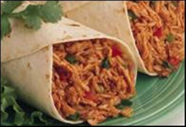 Chicken mexican food recipes chicken and rice burritos mexican recipe forumfinder Image collections